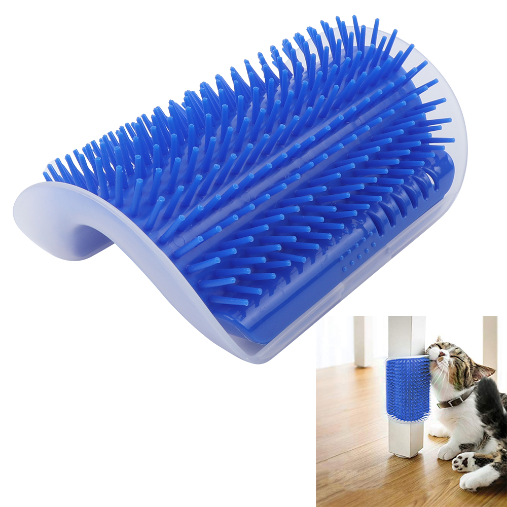 Cat Self Groomer Wall Corner Massage Comb For Kitten Puppy