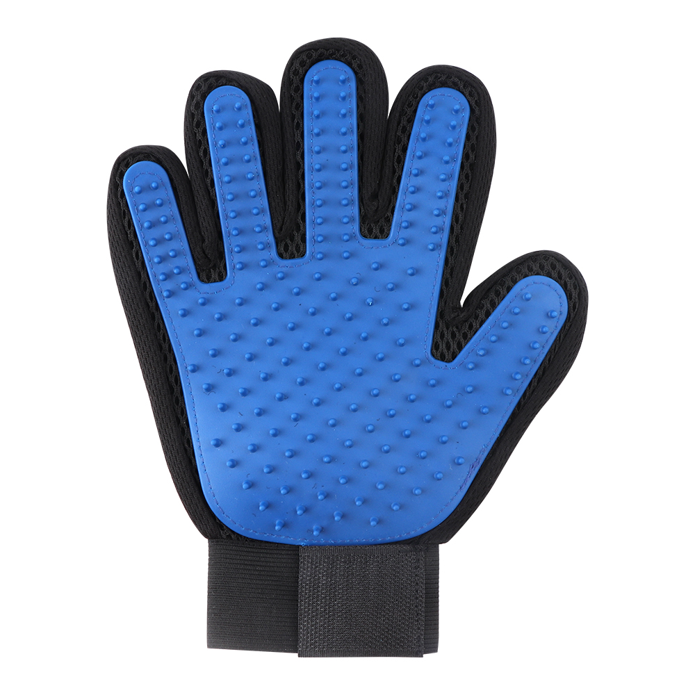 Pet Grooming Glove Efficient Gentle Deshedding Brush Glove
