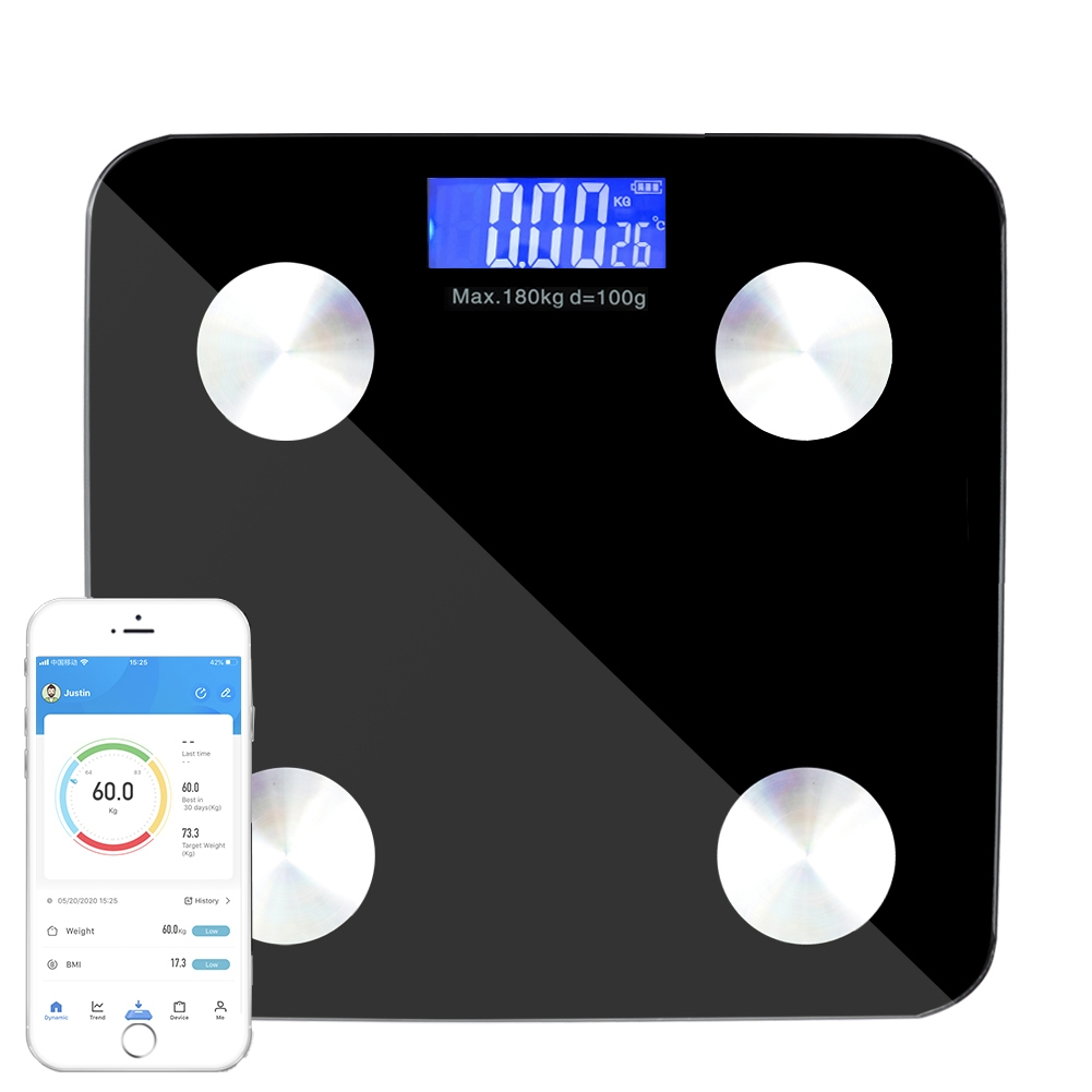 Bluetooth Body Weight With Ios Android App Body Analyzer