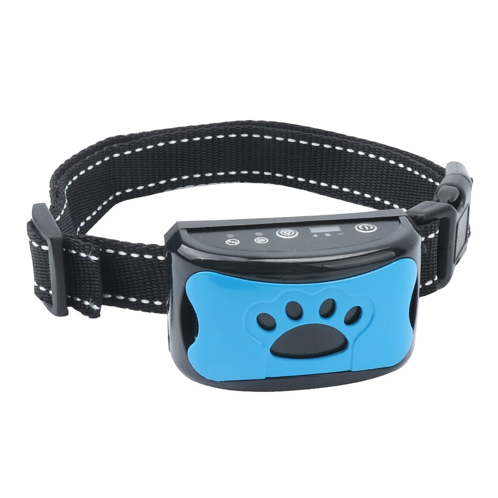 No Harm Shock Rechargeable Barking Control Training Collar