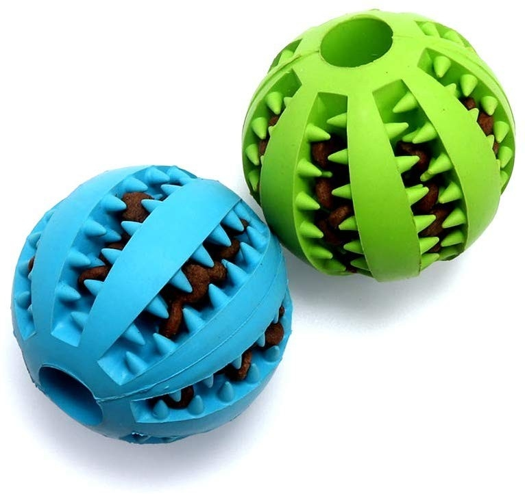 Non-toxic Rubber Dog chew Toys For Pet Tooth Cleaning