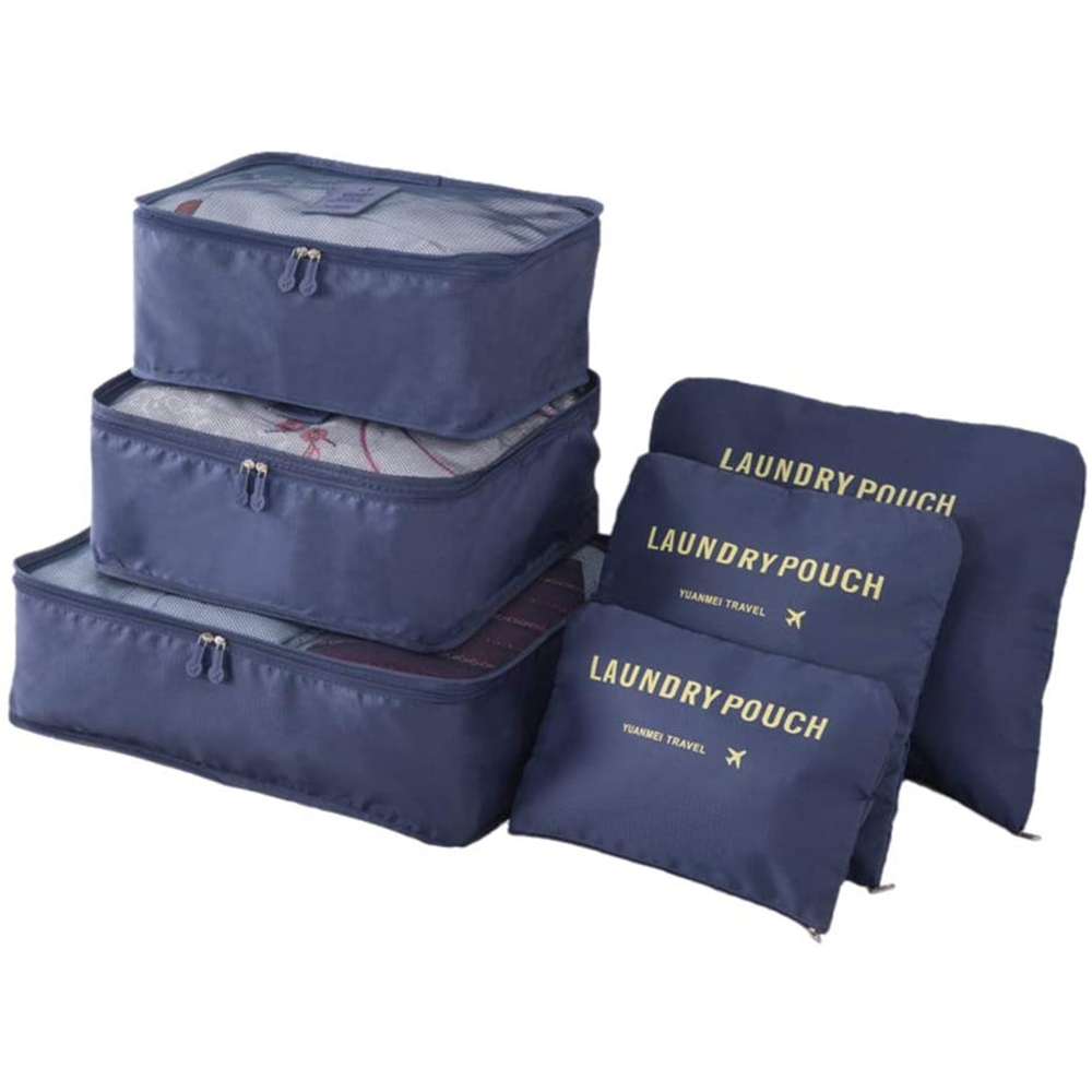 6-piece Portable And Large Capacity Travel Storage Bag