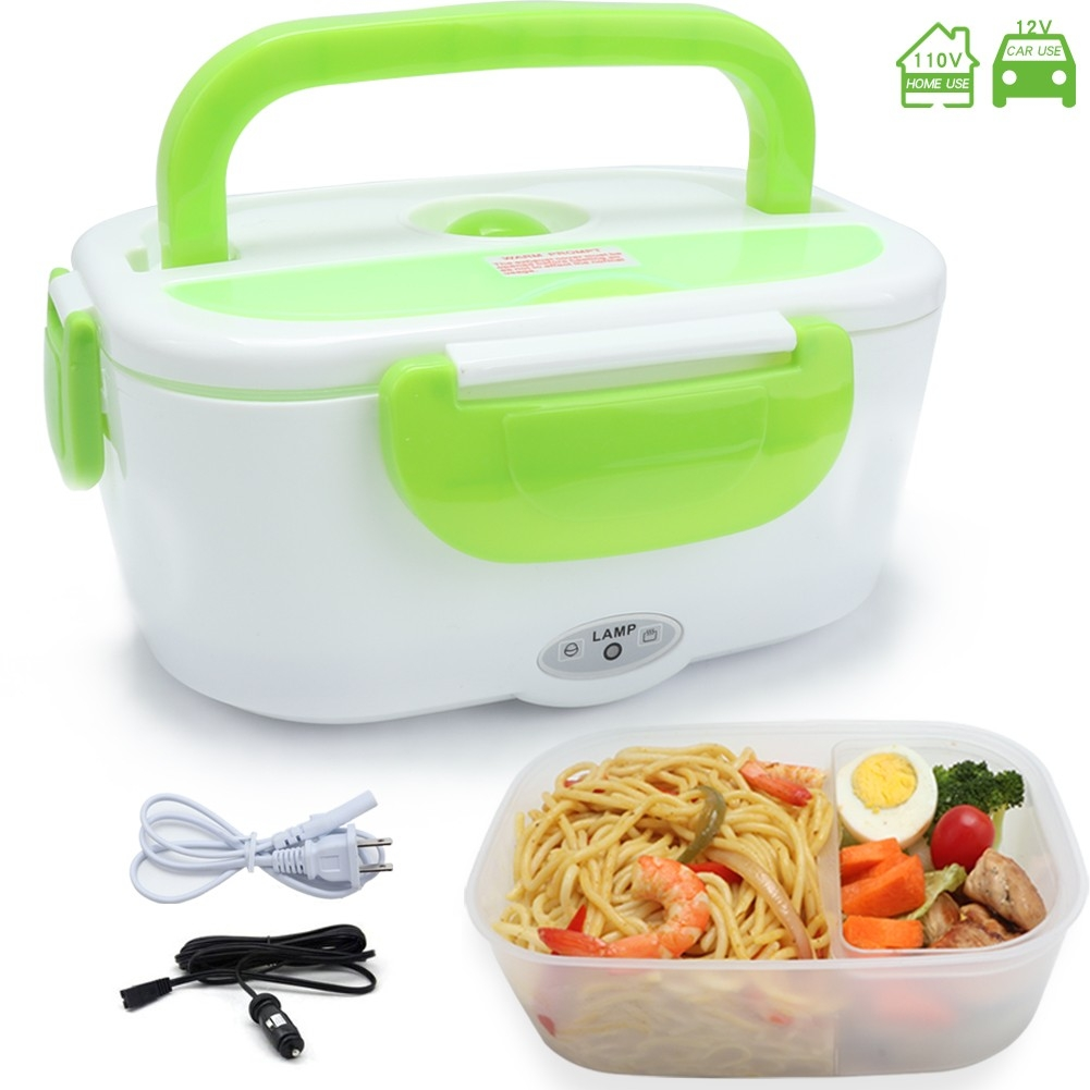 2 In 1 Portable Food Warmer Electric Lunch Box