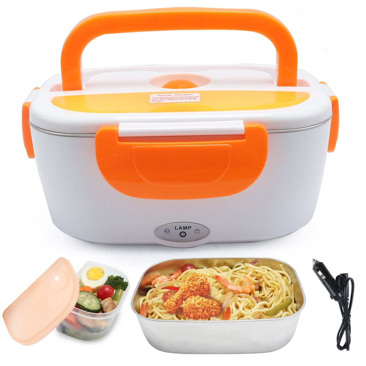 Electric Lunch Box With Stainless Steel Liner