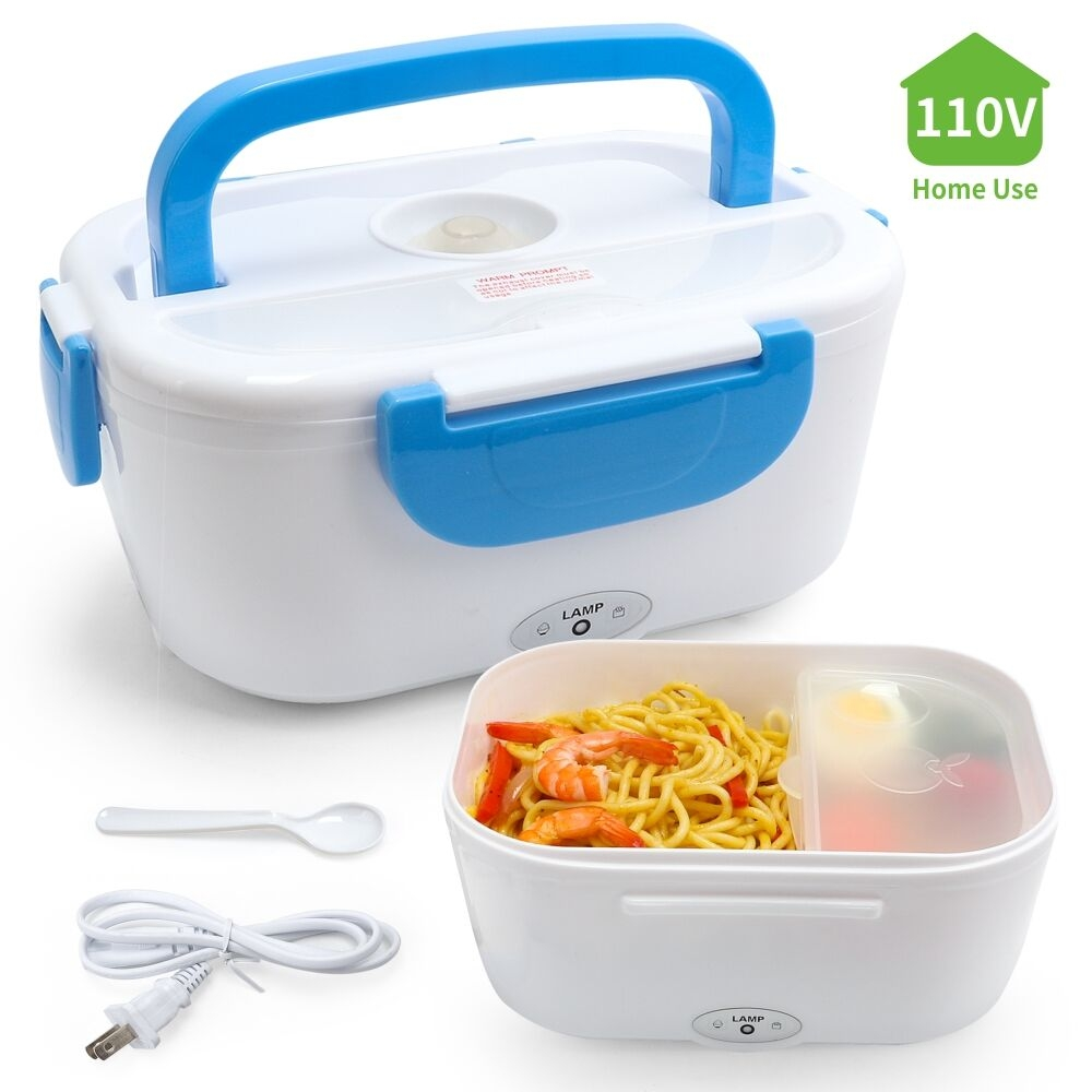Two Compartment Portable Electric Lunch Box
