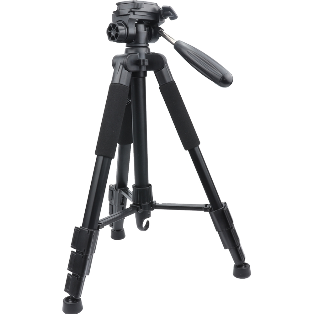"""Camera Tripod With Carry Bag With Bluetooth 58""""black"""