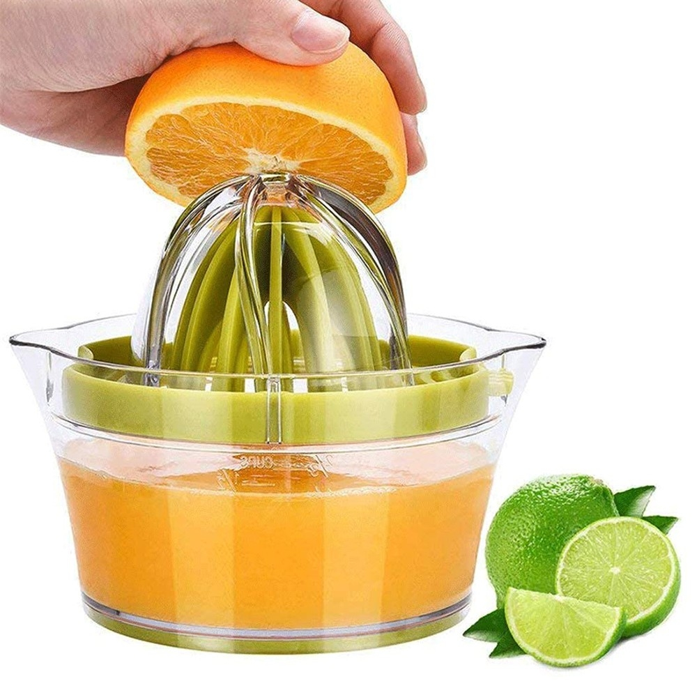 Two In One Stainless Steel Manual Lemon And Orange Juice Press