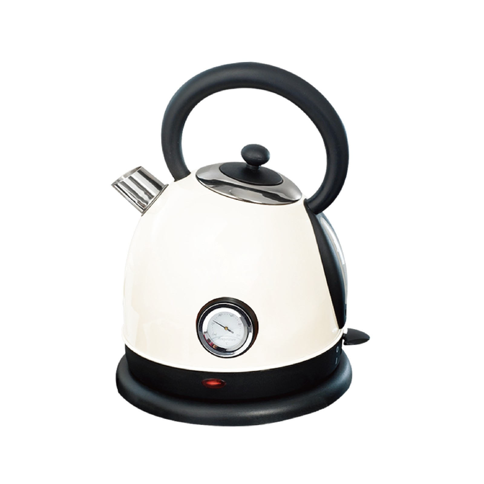 Retro Home Electric Kettle With Temperature Display