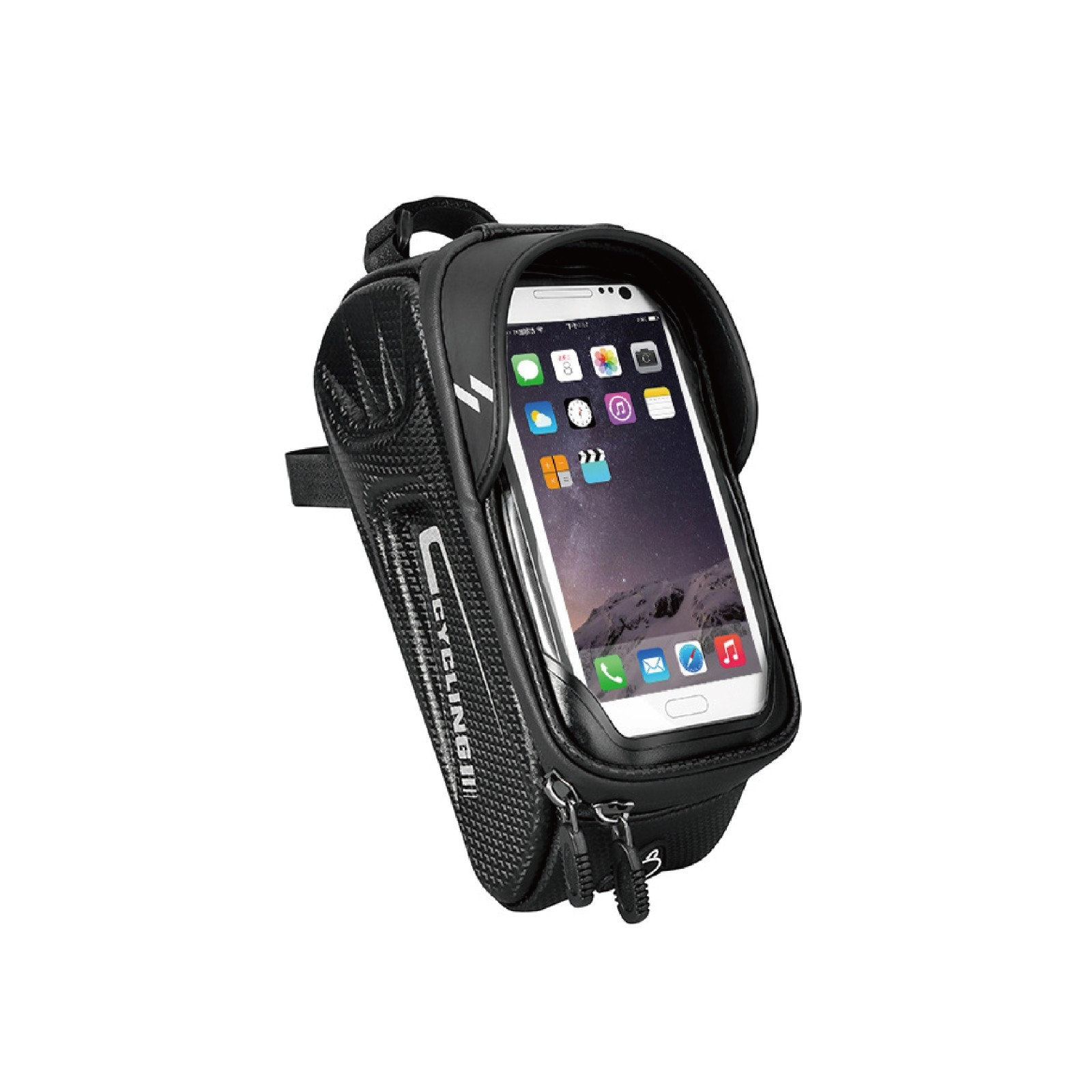 Bicycle Front Beam Bag Riding Equipment Mobile Phone Touch Screen Bag