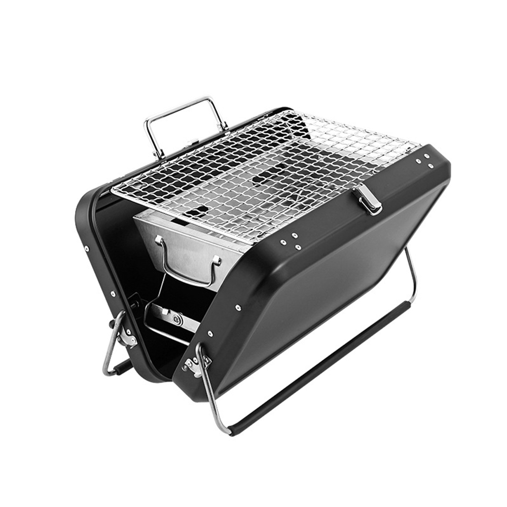 Outdoor Portable Luggage Box Barbecue Rack Household Folding Barbecue Oven