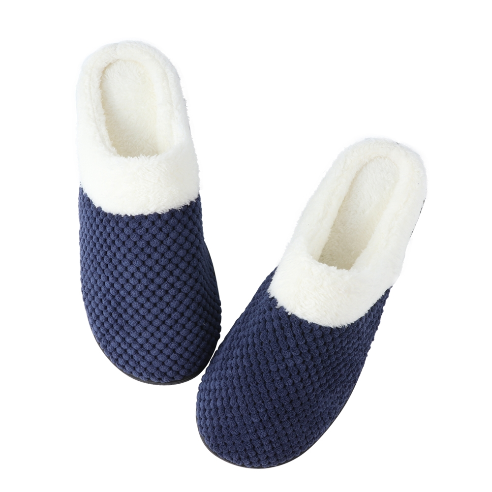 Winter Home Men's Slippers Cotton Slippers Soft And Comfortable